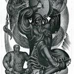 Субраков Р.И. Шаман совершает обряд