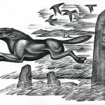 Субраков Р.И. Летящий волк над курганами