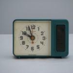"""Часы будильник """"Янтарь"""" 1980-х г.г."""